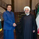 دیدار عمران خان نخست وزیر پاکستان با حسن روحانی در سعدآباد!