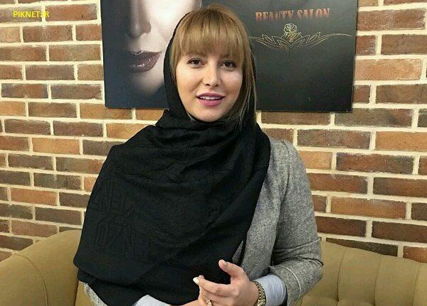 فریبا نادری بازیگر ستایش با تیپ متفاوت در کنار برج ایفل فرانسه!