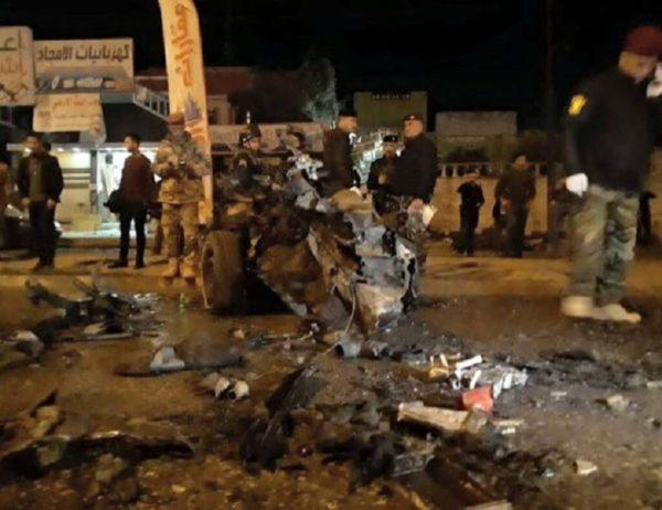 انفجار تروریستی در کربلا