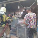 انفجار شدید در یک مجتمع تجاری در پونک تهران