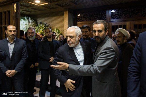 مراسم ختم دختر سفیر ایران در روسیه