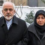 مریم ایمانیه همسر ظریف در جشنواره غذا و صنایع دستی