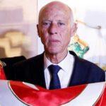 ماشین ایرانی طور قیس سعید رئیس جمهور تونس