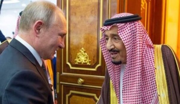 هدیه پوتین به پادشاه عربستان