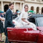 تصاویری از مراسم عروسی وارث پادشاهی و نوه ناپلئون بناپارت!