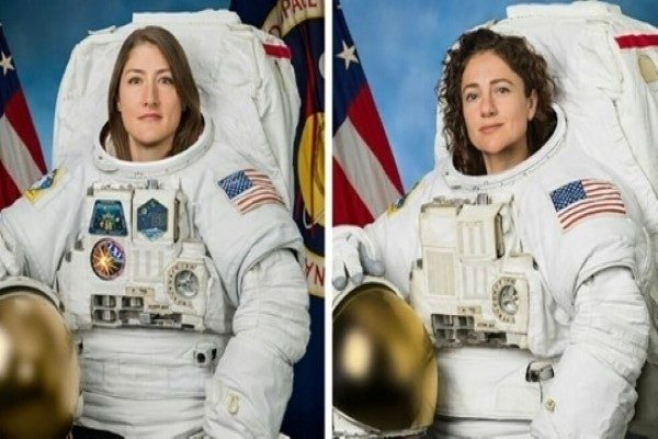 رخدادی تاریخی | اولین پیاده روی فضایی زنانه دو فضانورد آمریکایی!!
