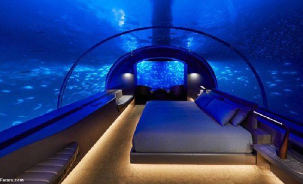 اولین ویلای لاکچری زیر آب را ببینید!!