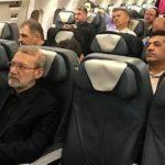 لاریجانی رئیس مجلس چرا با پرواز اختصاصی از صربستان برگشت!!؟