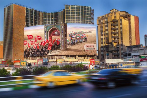 جدیدترین دیوارنگاره میدان ولیعصر