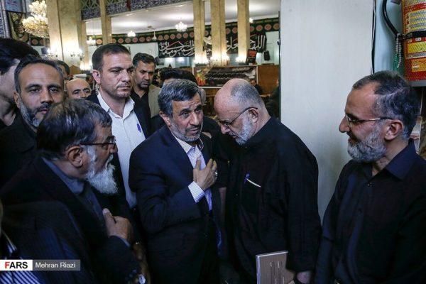 احمدی نژاد و رفقا