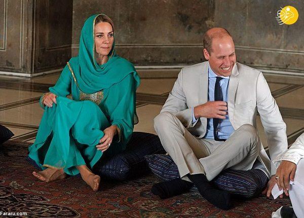 شاهزاده ویلیام و همسرش