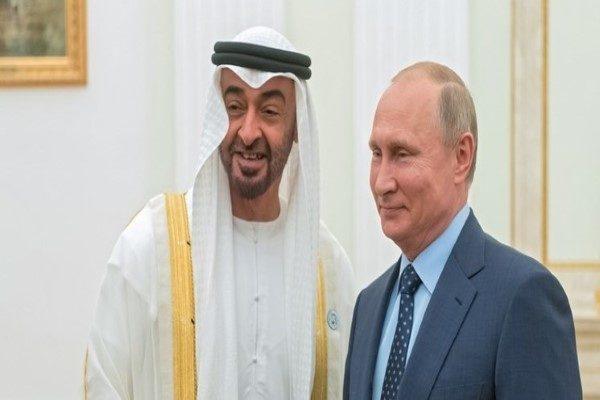 هدیه خاص و کمیاب پوتین رئیس جمهوری روسیه به ولیعهد ابوظبی!
