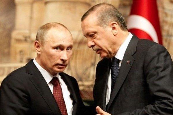 سوتی اردوغان در دیدار با پوتین مقابل خبرنگاران سوژه شد!!