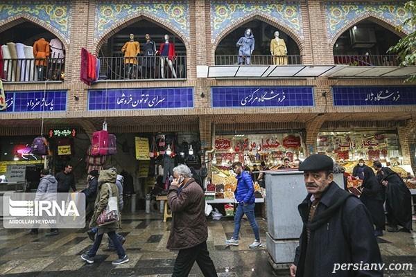 حال و هوای امروز بازار بزرگ تهران را ببینید!!