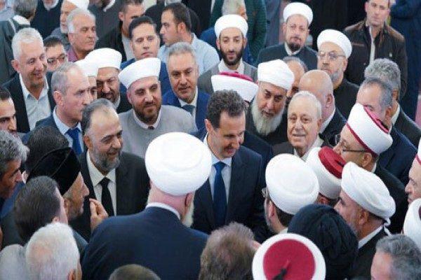 بشار اسد رئیس جمهور