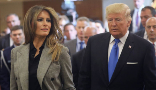 استقبال رئیس جمهور آمریکا با همسرش از تیم بیسبال در کاخ سفید!