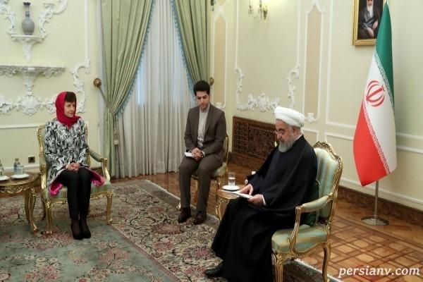 روحانی رئیس جمهور کشورمان
