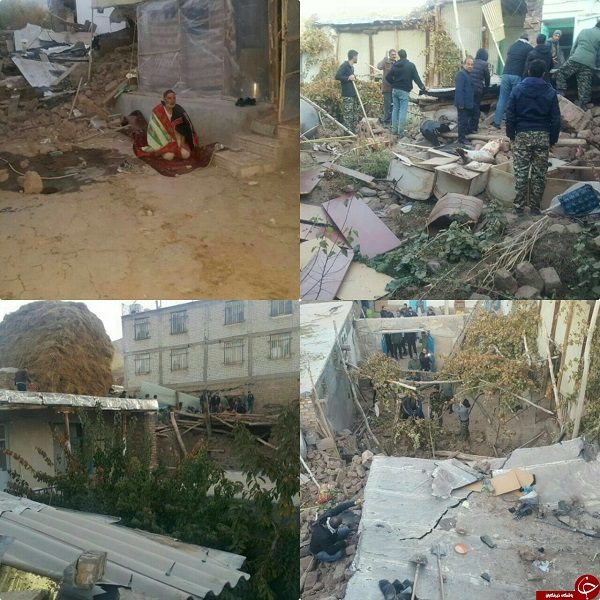 زلزله در ترکمانچای