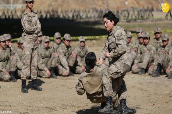 زنان نظامی ترکیه
