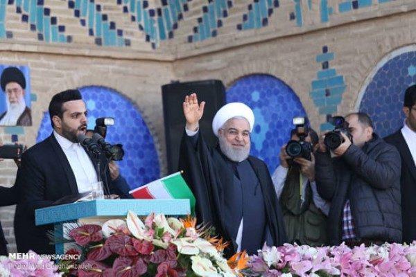 سخنرانی حسن روحانی در یزد