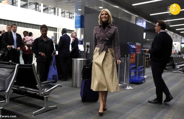 دختر رئیس جمهور امریکا