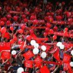 غیر فوتبالی بودن شعارهای تماشاگران تراکتور باعث دستگیری ۷ نفر شد