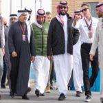 مسابقات اتومبیل رانی در عربستان با حضور ولیعهد و رانندگی اولین زن سعودی!!