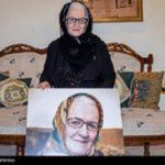 ملکه رنجبر بازیگر ایرانی در بیمارستان بستری شد!!