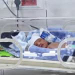 تولد نوزاد پسر ۹۲ روز پس از به کما رفتن مادرش در اثر تصادف !