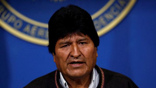 مورالس رئیس جمهور
