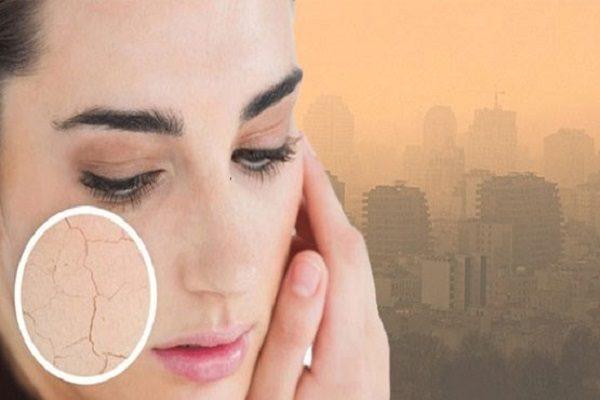مهم ترین تاثیر آلودگی هوا بر پوست بدن انسان ها