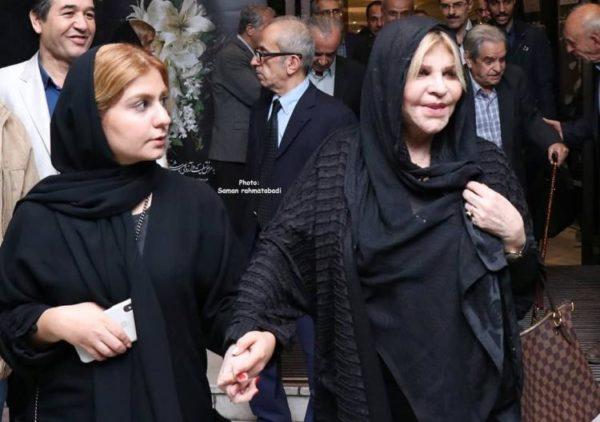 مراسم یادبود مظاهر مصفا با حضور هنرمندان معروف