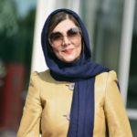 هنگامه قاضیانی بازیگر با پوشش غربی در فارغ التحصیلی پسرش!!