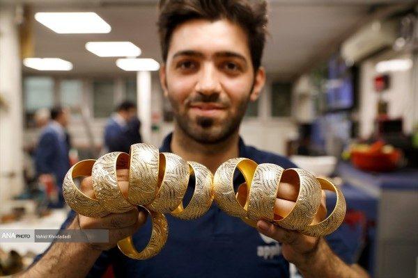کارگاه تولید طلا در تهران را ببینید!!