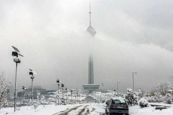 کاهش دمای هوا از امروز؛ احتمال بارش برف در تهران!