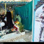 جشن تولد متفاوت جوان ترین شهید مدافع حرم