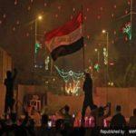 حمله به کنسولگری ایران در کربلا و تجمع اغتشاشگران در اطراف آن!!