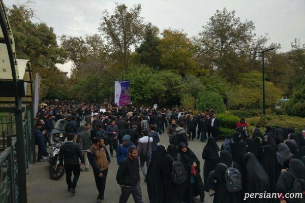 اعتراض به گرانی بنزین به سبکی متفاوت در شیراز + تجمع دانشجویان تهران!