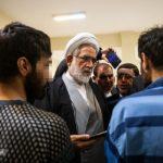 بازدید دادستان کل از زندان فشافویه و بازداشتی های حوادث اخیر!!