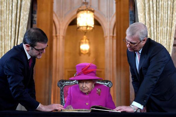 پسر کوچک ملکه انگلیس