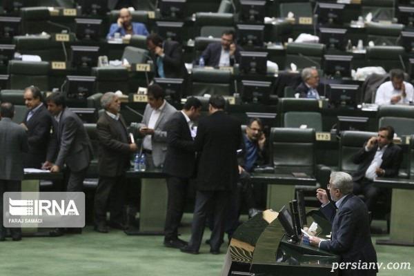 جلسه نطق وزیر نیرو در مجلس