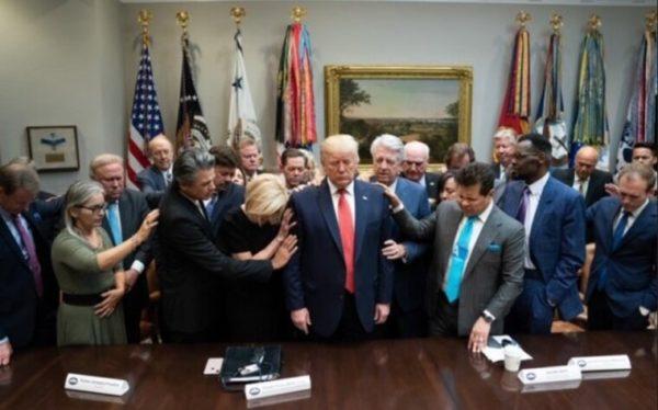 تصویری از دونالد ترامپ