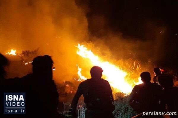 آتش سوزی انبار