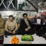 شب یلدای آیت الله آل هاشم امام جمعه تبریز در جمع زلزله زدگان میانه!
