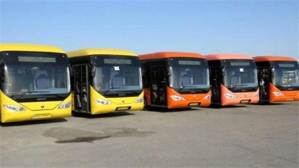 مبلغ تعیین شده برای کرایه اتوبوس drt تهران
