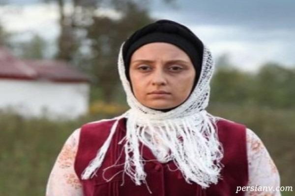 چهره اصلی و بدون گریم الهام طهموری بازیگر سریال وارش!