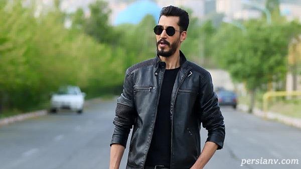 بهرام افشاری بازیگر سریال پایتخت در اردوی نساجی