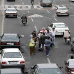 افزایش آمار تلفات عابر پیاده در خیابان های ایران