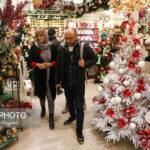 تصاویری دیدنی از حال و هوای کریسمس در تهران!