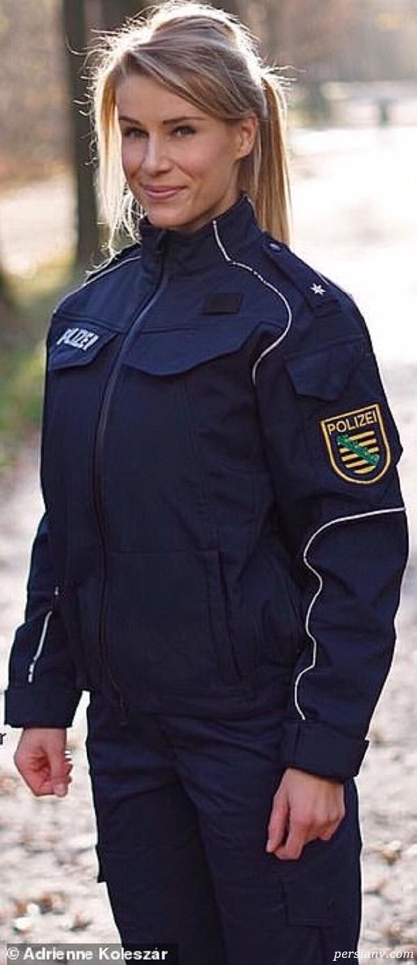زیباترین زن پلیس آلمان